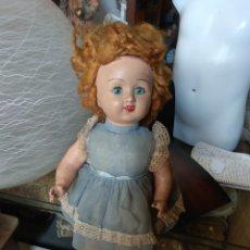 Muñeca española clasica: ANTIGUA MUÑECA CARTÓN PIEDRA. Lote 161129046