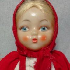 Muñeca española clasica: GRACIOSA MUÑECA RUSA ANTIGUA GUARDA TETERAS UTILIZADA PARA GUARDAR EL CALOR DE LA TETERA. Lote 161585122