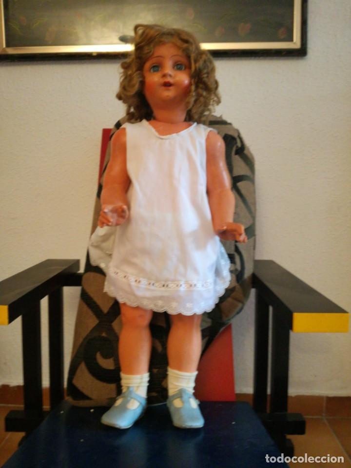 Muñeca española clasica: MUÑECA ESPAÑOLA AÑOS 40-50 EN CARTON PIEDRA. - Foto 9 - 161621462