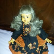 Muñeca española clasica: ANTIGUA MUÑECA DE PORCELANA???? Y TRAPO. Lote 161849474