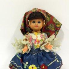 Muñeca española clasica: ANTIGUA PAREJA DE MUÑECOS TRAJE TÍPICO.. Lote 162404702