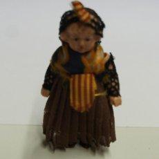 Muñeca española clasica: MUÑECA MINIATURA DE CELULOIDE ,MIDE 6,5 CM.. Lote 162959722