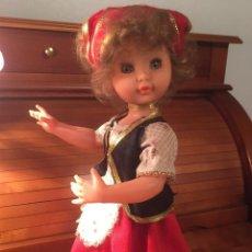 Muñeca española clasica: ANTIGUA MUÑECA DE LAS QUE SERVIAN PARA CARAMELOS. Lote 162969622