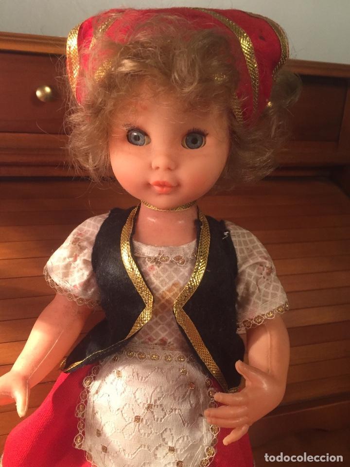 Muñeca española clasica: Antigua muñeca de las que servian para caramelos - Foto 2 - 162969622