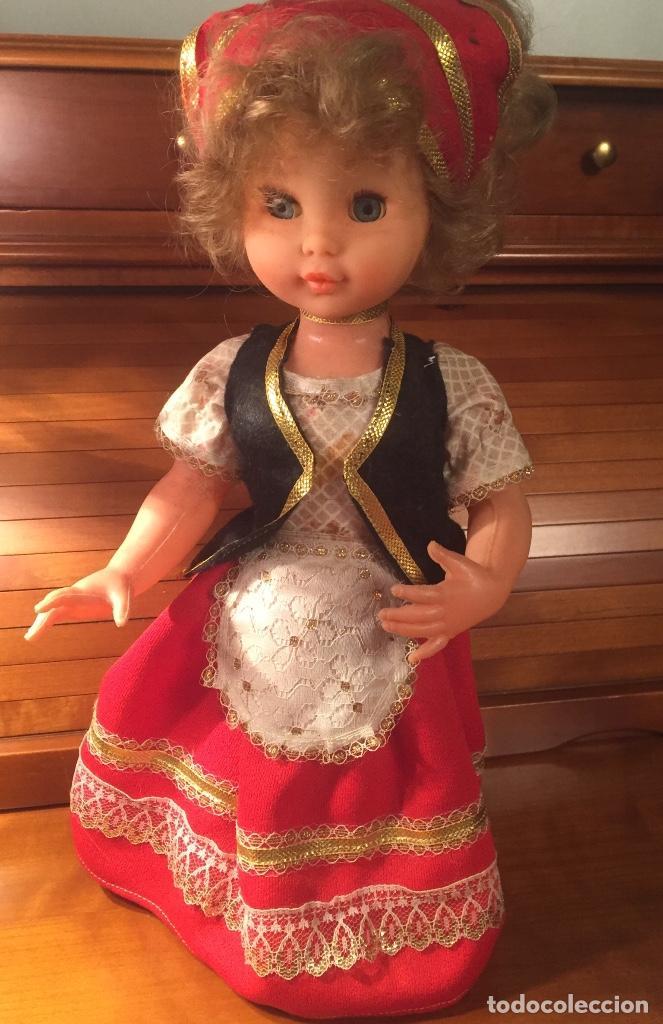 Muñeca española clasica: Antigua muñeca de las que servian para caramelos - Foto 3 - 162969622