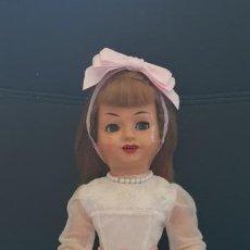 Muñeca española clasica: MUÑECA SISI , INDUSTRIAS LEB, CARTON PIEDRA. Lote 164701442