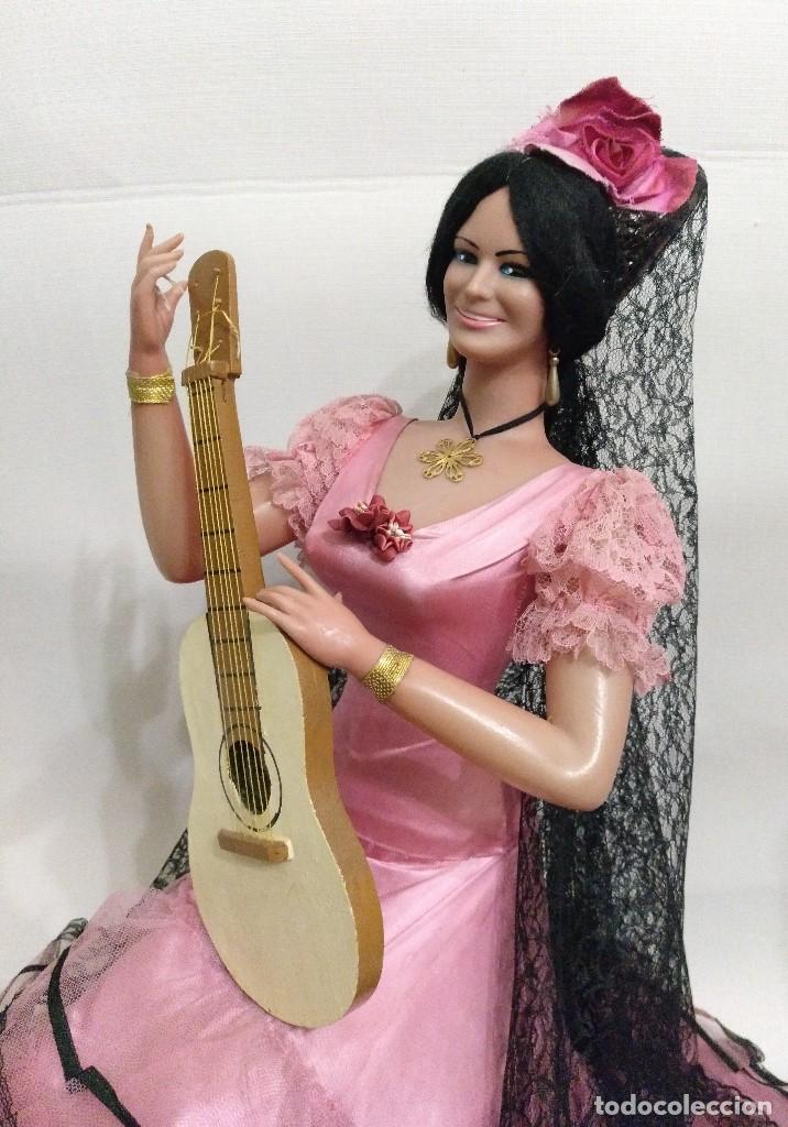 Muñeca española clasica: Muñeca de Marin de 68 cm (tamaño gigante) - Foto 2 - 164860962