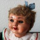 Muñeca española clasica: PRECIOSA MUÑECA ESPAÑOLA (PEPONA) AÑOS 40 CON TODO ORIGINAL. Lote 165290698