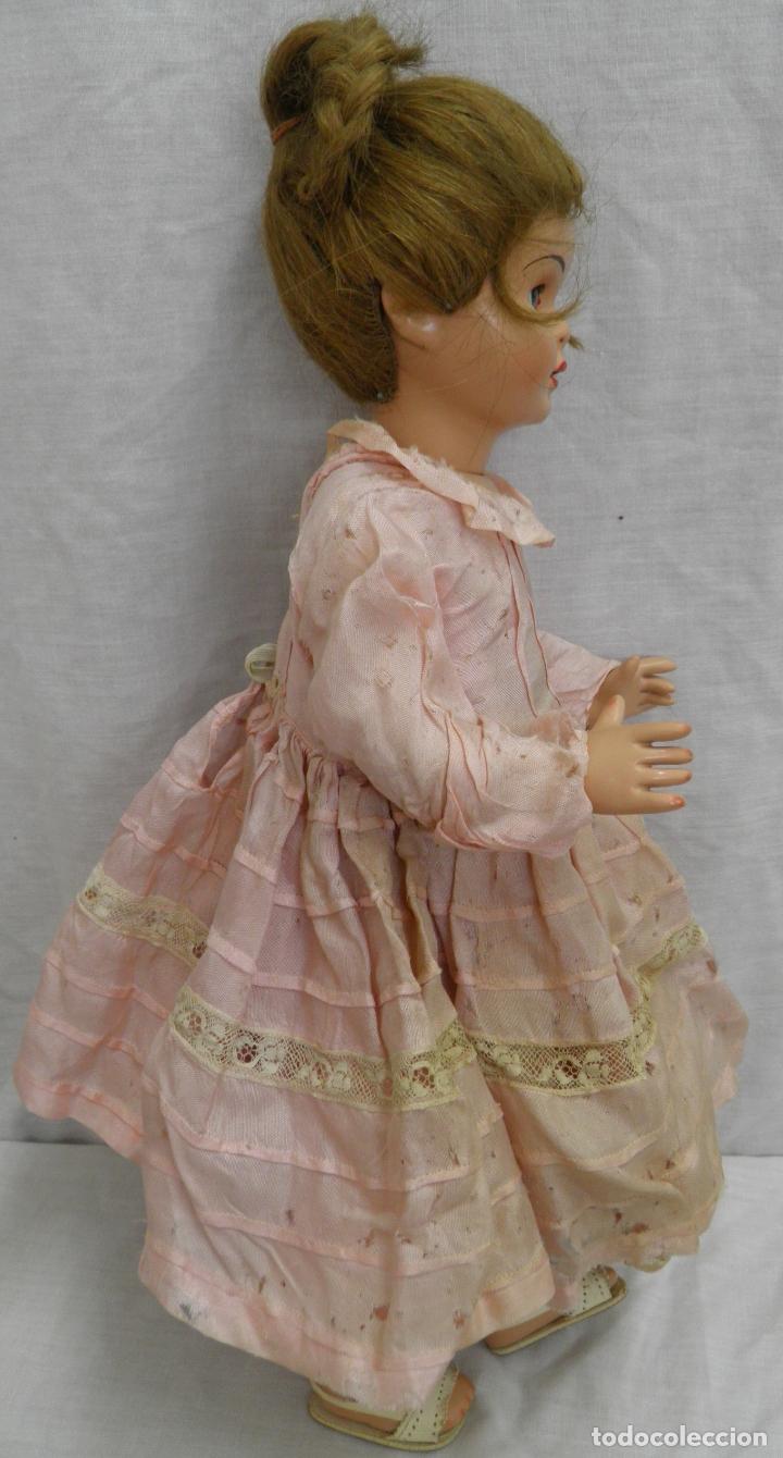 Muñeca española clasica: MUÑECA LILÍ DE CARMEN CERVERA,PRIMER MODELO,AÑOS 50 - Foto 3 - 165319362