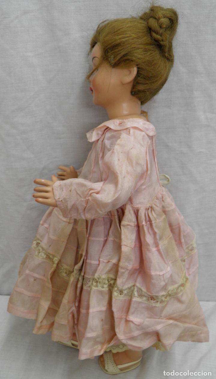 Muñeca española clasica: MUÑECA LILÍ DE CARMEN CERVERA,PRIMER MODELO,AÑOS 50 - Foto 4 - 165319362