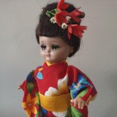 Muñeca española clasica: PRECIOSA LINDA PIRULA ,VESTIDA DE GEISHA ,CASA ALBA ,AÑOS 50 (MUY POCO VISTO). Lote 165395978