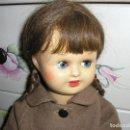 Muñeca española clasica: MUÑECA MARY CRIS DE FLORIDO. CARTÓN PINTADA AL DUCO. 44 CM DE ALTURA. ROPA DE ORIGEN. Lote 165447590