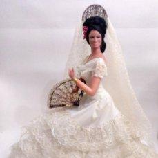 Muñeca española clasica: MUÑECA DE MARIN DE 68 CM (TAMAÑO GIGANTE). Lote 165844894