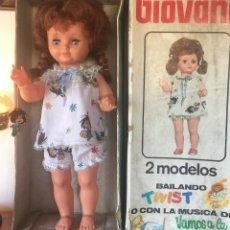 Muñeca española clasica: PRECIOSA GIOVANA DE JESMAR CON MECANISMO MÚSICA GIRA LA CABEZA CIERRA Y ABRE LOS OJOS. Lote 166635954