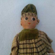 Muñeca española clasica: MUÑECO DE TRAPO MUY ANTIGUO. Lote 166670520