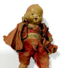 Muñeca española clasica: ANTIGUO MUÑECO VESTIDO DE TORERO. VER FOTOS. MEDIDAS : 17 X 9 CM APROX.. Lote 166900928