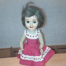 Muñeca española clasica: ANTIGUA MUÑECA, OJOS MOVILES, SISTEMA LLORÓ, FUNCIONANDO.. Lote 167084440