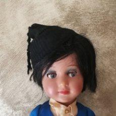 Muñeca española clasica: MUÑECA LINDA CARLA DE ICSA AÑOS 50. Lote 168353409