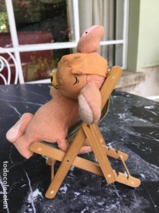 Muñeca española clasica: MUÑECO DE FIELTRO REPRESENTANDO AL RATÓN JERRY, DE LOS DIBUJOS ANIMADOS TOM Y JERRY. AÑOS 50-60 - Foto 6 - 169089860