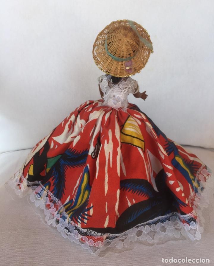 Muñeca española clasica: Preciosa muñeca negrita celuloide - Foto 4 - 169569360