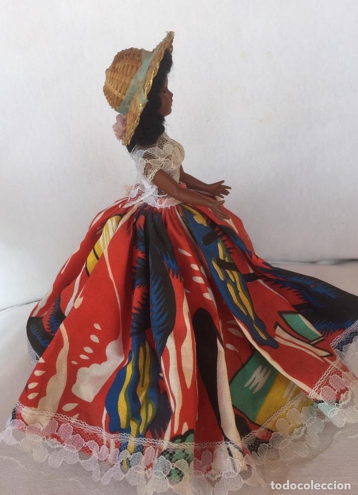Muñeca española clasica: Preciosa muñeca negrita celuloide - Foto 5 - 169569360