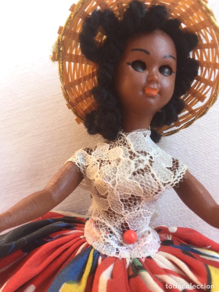 Muñeca española clasica: Preciosa muñeca negrita celuloide - Foto 11 - 169569360