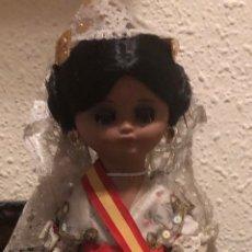 Muñeca española clasica: MUÑECA LINDA PIRULA FALLERA. Lote 169813596