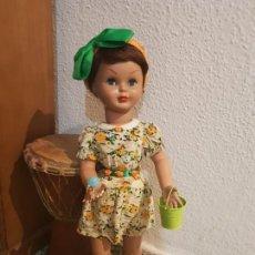 Muñeca española clasica: MUÑECA CELULOIDE PIERINA DE FAMOSA. Lote 168720712