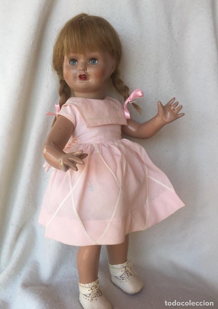 Muñeca española clasica: Maravillosa Muñeca Mari Cris MariCris de Florido toda original vestido marcado - Foto 5 - 170278236