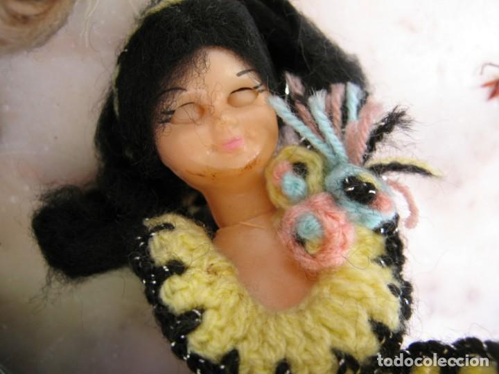 Muñeca española clasica: Interesante Lote de muñecas rotas para piezas y reparaciones - Foto 3 - 171401964