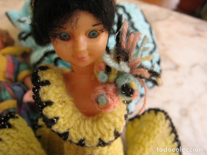 Muñeca española clasica: Interesante Lote de muñecas rotas para piezas y reparaciones - Foto 4 - 171401964