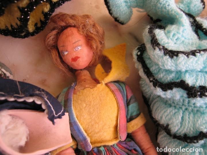 Muñeca española clasica: Interesante Lote de muñecas rotas para piezas y reparaciones - Foto 5 - 171401964