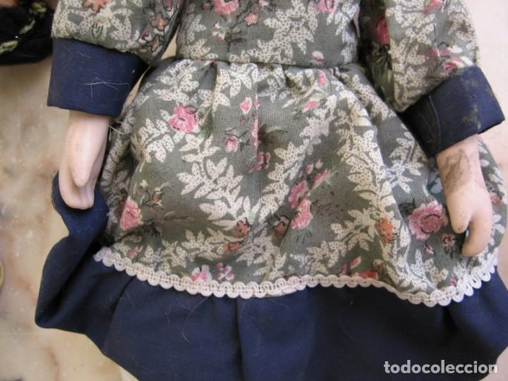 Muñeca española clasica: Interesante Lote de muñecas rotas para piezas y reparaciones - Foto 6 - 171401964