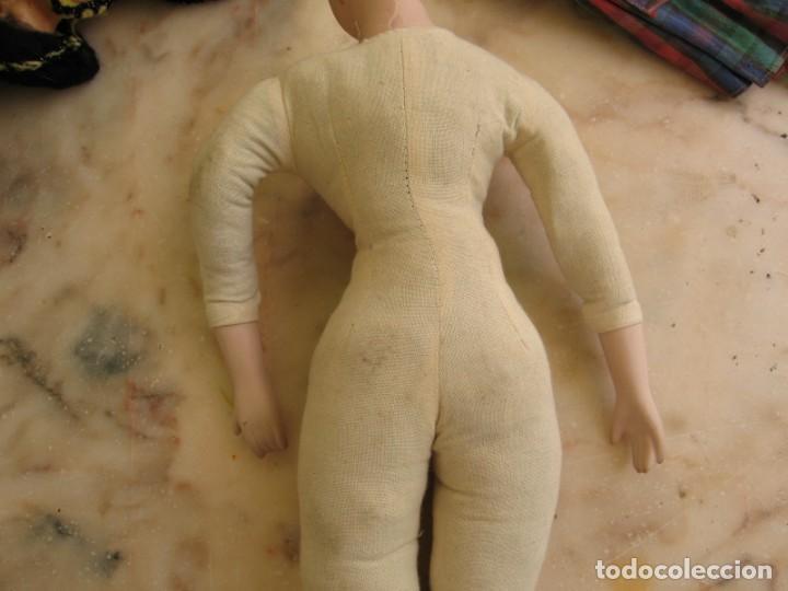 Muñeca española clasica: Interesante Lote de muñecas rotas para piezas y reparaciones - Foto 10 - 171401964