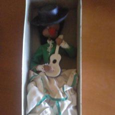 Muñeca española clasica: MUÑECAS MAROLGA ** EN CAJA ORIGINAL ** FLAMENCA CON GUITARRA ** NUNCA SACADA DE CAJA. Lote 171835722