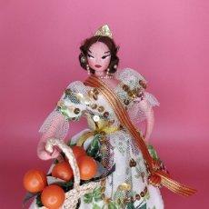 Muñeca española clasica: ANTIGUA MUÑECA VALENCIANA FALLERA, LAYNA. Lote 172131345