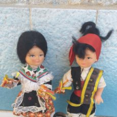 Muñeca española clasica: PAREJA MUÑECOS REGIONALES MAÑOS?. Lote 172960068