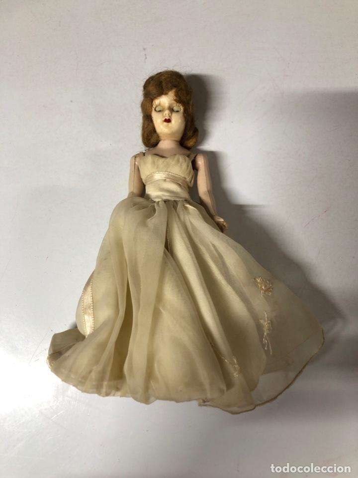 Muñeca española clasica: ANTIGUA MUÑECA DE CELULOIDE. MEDIDA APROXIMADA 18.5 CM DE ALTO. VER FOTOS - Foto 2 - 173557640