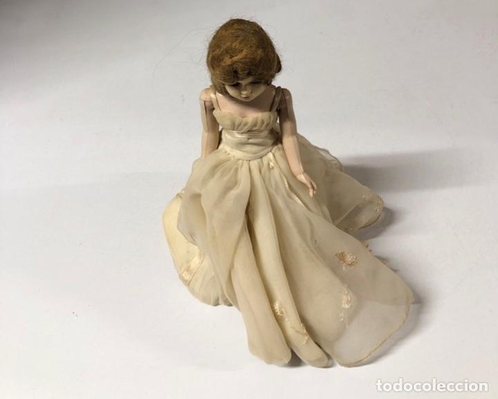 Muñeca española clasica: ANTIGUA MUÑECA DE CELULOIDE. MEDIDA APROXIMADA 18.5 CM DE ALTO. VER FOTOS - Foto 3 - 173557640