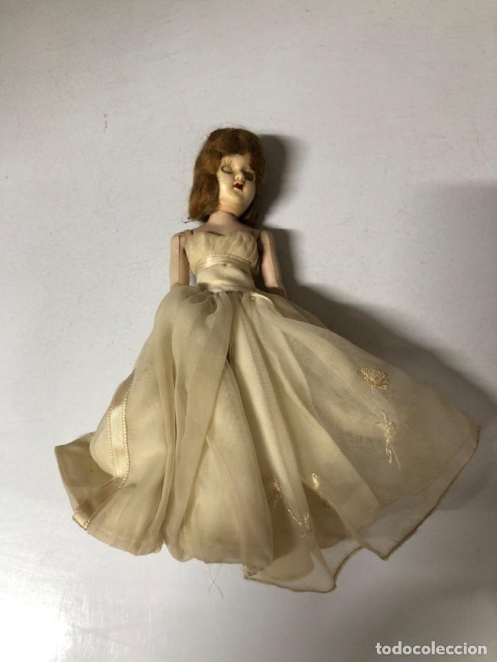 Muñeca española clasica: ANTIGUA MUÑECA DE CELULOIDE. MEDIDA APROXIMADA 18.5 CM DE ALTO. VER FOTOS - Foto 8 - 173557640
