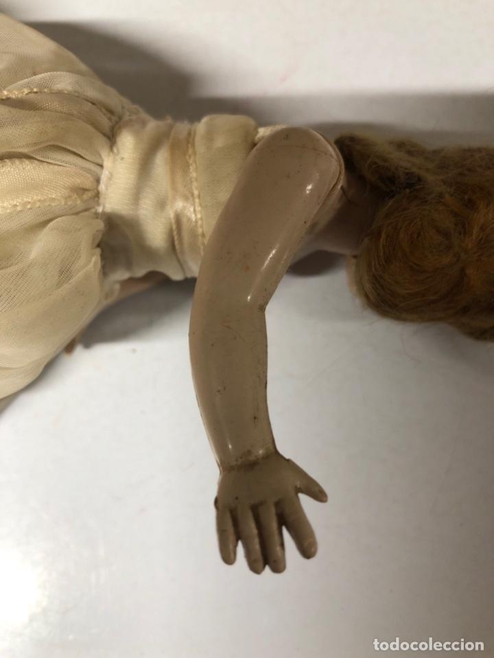 Muñeca española clasica: ANTIGUA MUÑECA DE CELULOIDE. MEDIDA APROXIMADA 18.5 CM DE ALTO. VER FOTOS - Foto 9 - 173557640