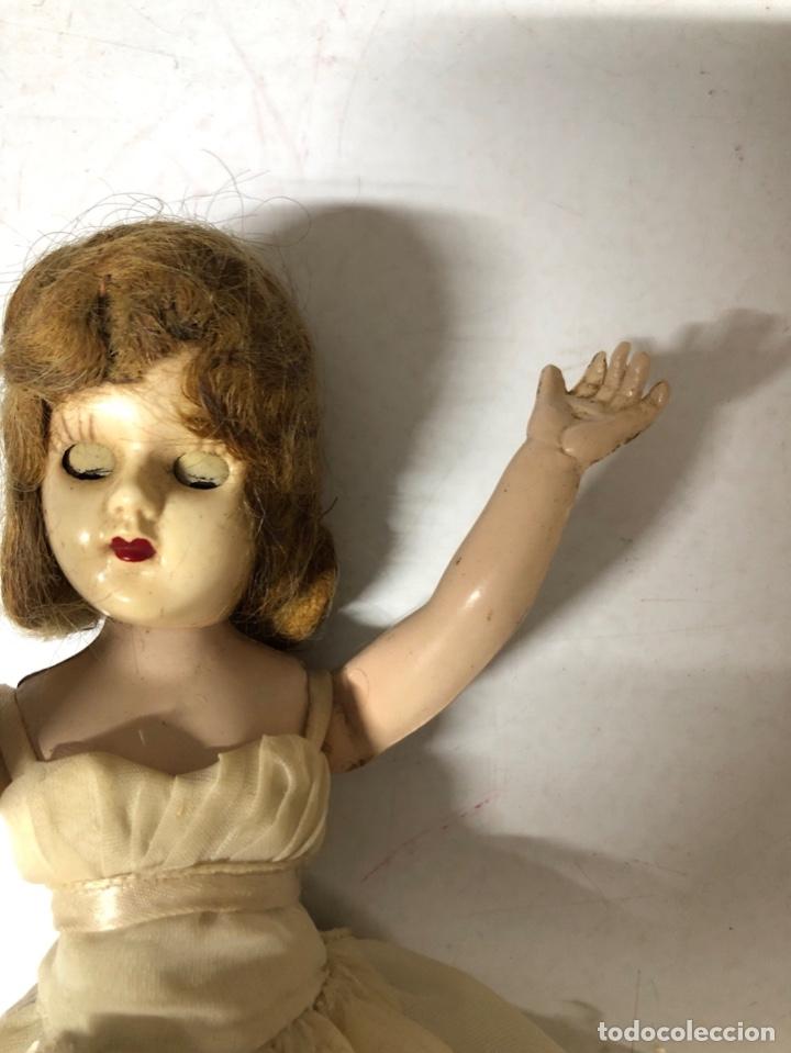 Muñeca española clasica: ANTIGUA MUÑECA DE CELULOIDE. MEDIDA APROXIMADA 18.5 CM DE ALTO. VER FOTOS - Foto 11 - 173557640