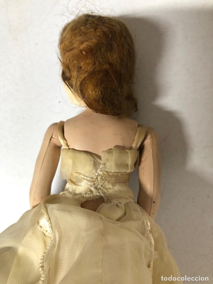 Muñeca española clasica: ANTIGUA MUÑECA DE CELULOIDE. MEDIDA APROXIMADA 18.5 CM DE ALTO. VER FOTOS - Foto 13 - 173557640