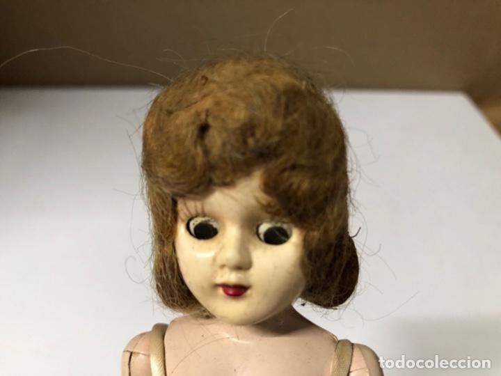 Muñeca española clasica: ANTIGUA MUÑECA DE CELULOIDE. MEDIDA APROXIMADA 18.5 CM DE ALTO. VER FOTOS - Foto 15 - 173557640