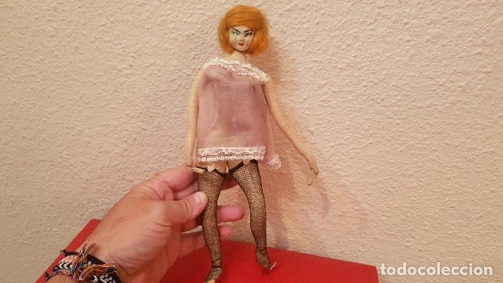 917346335389 Antigua muñeca sexy pin up vintage lenceria año - Sold through ...