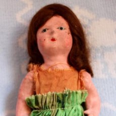 Muñeca española clasica: PRIMERAS MUÑECAS DE CARTON, LAS PEPAS -DOLLS, POUPÉES. Lote 174050128