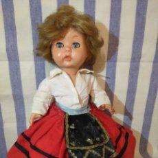Muñeca española clasica: BONITA MUÑECA ÁNGELA O ANGELITA DE INDUSTRIAS LEB,AÑOS 60. Lote 174196197