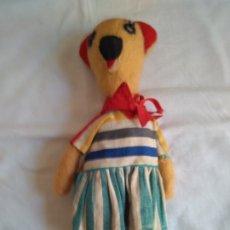 Boneca espanhola clássica: MUÑECA HECHA DE TELA. SE LLAMA NEGURI. BILBAO 1940. Lote 174414128