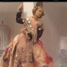 Muñeca española clasica: MUÑECA FALLERA ANTIGUA. Lote 174491479