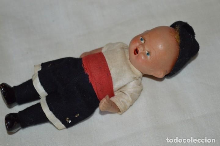 Muñeca española clasica: Antigua muñeco con ropa - CERÁMICA / TERRACOTA / BARRO / ARCILLA... Preciosa ¡Mira fotos/detalles! - Foto 2 - 174934453